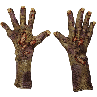 Rotted Zombie Gloves