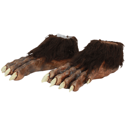 Deluxe Werewolf Foot Covers