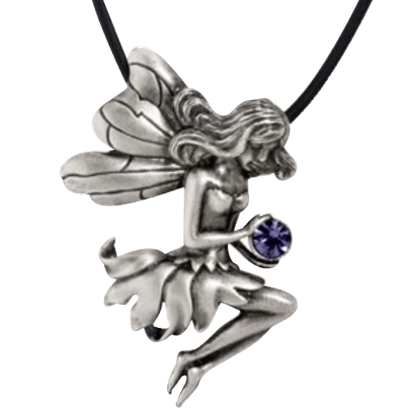 Fairy Seated Necklace