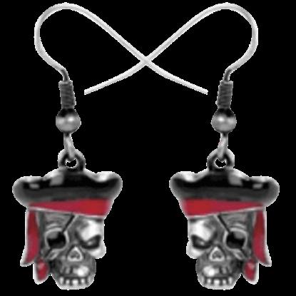 Pirate Captain Earrings