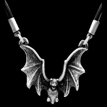 Flying Bat Necklace