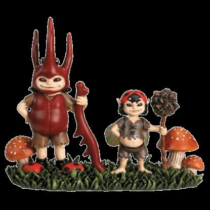 Bug Boys Statue