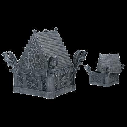 Gothic Gargoyle Trinket Box