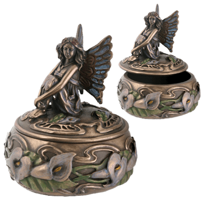 Calla Lily Fairy Box