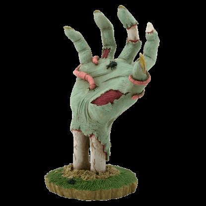 Ground Burster Zombie Hand Figurine
