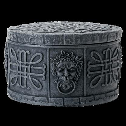 Celtic Greenman Trinket Box