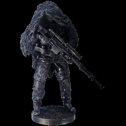 Under Cover Sniper Statue
