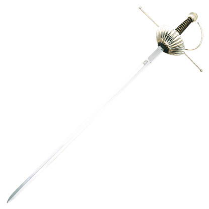 Spanish Fluted Cup Rapier