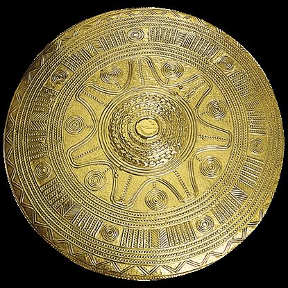 Brass Villanovan Shield