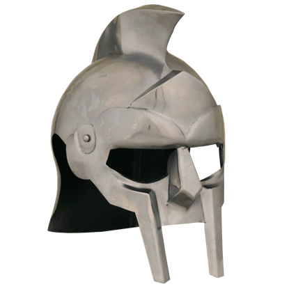 Crested Gladiator Helmet
