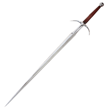 Two Handed Danish Sword With Scabbard