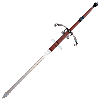 German Landsknechte Flamberge Sword