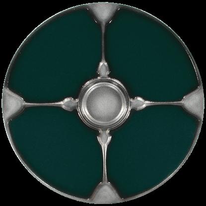 Gaelic Green LARP Shield