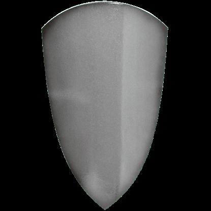 Medieval Squire LARP Shield in Silver