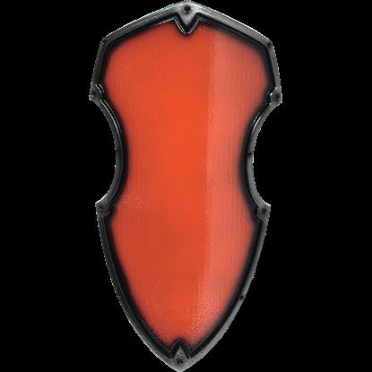 Red Medieval Hochritter LARP Shield