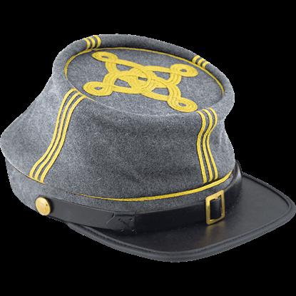 Confederate Infantry Officer's Kepi