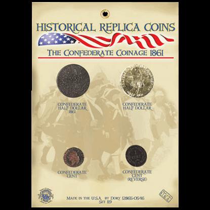 Confederate Coinage Set