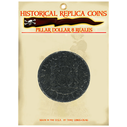 8 Reales Pillar Dollar Replica Coin