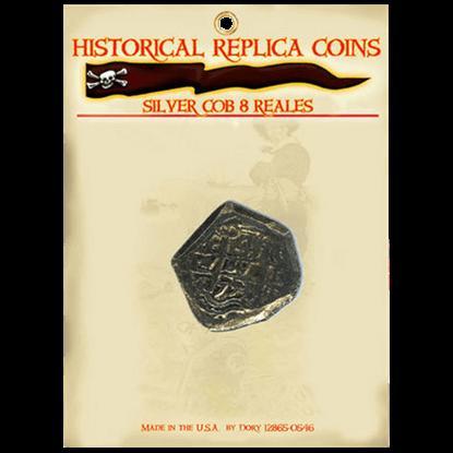 8 Reales Silver Cob Replica Coin