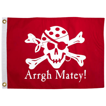 Arrgh Matey Pirate Flag