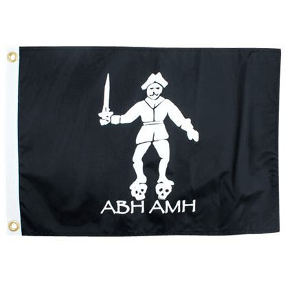 Black Bart Pirate Flag