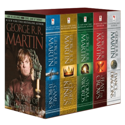 Game of Thrones 5-Book Boxed Set (George R. R. Martin Song of Ice and Fire Series)