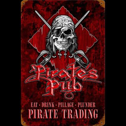 Pirates Pub Metal Sign