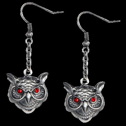 Wise Owl Earrings