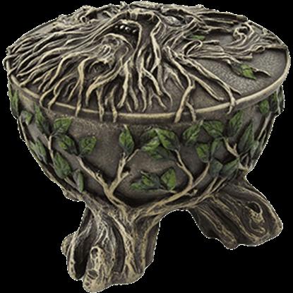 Round Greenman Box