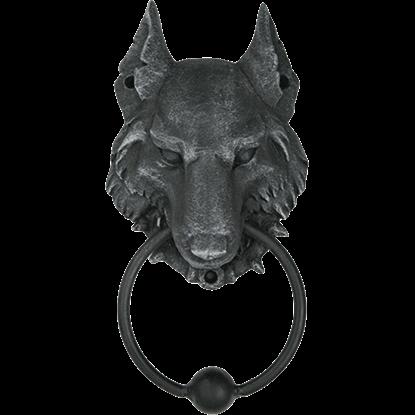Wolf Head Door Knocker