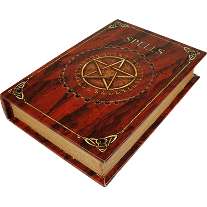 Spells Book Box