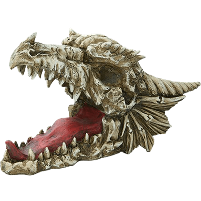 Dragon Skull Wine Bottle Holder