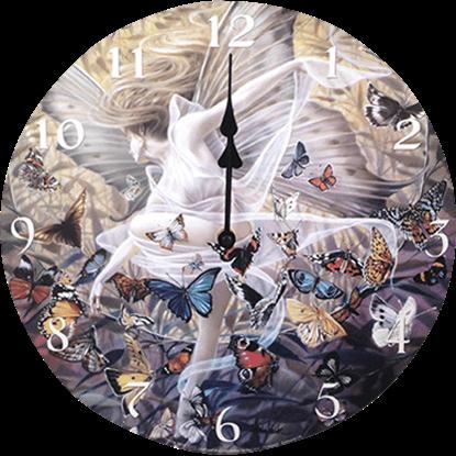Butterfly Fairy Revelation Wall Clock