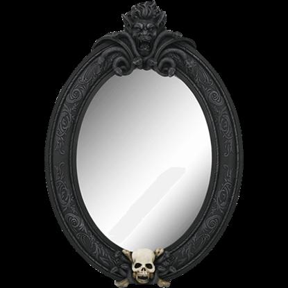 Medusa Skull Wall Mirror