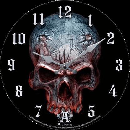 Demon Skull Clock