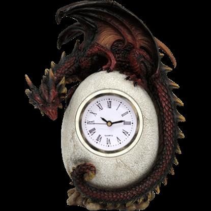 Dragon Egg Desk Clock