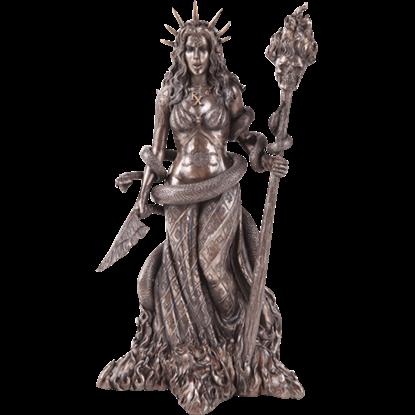 Bronze Hecate Statue