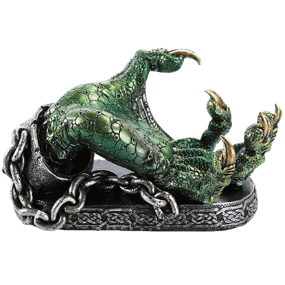 Green Dragon Claw Wine Holder