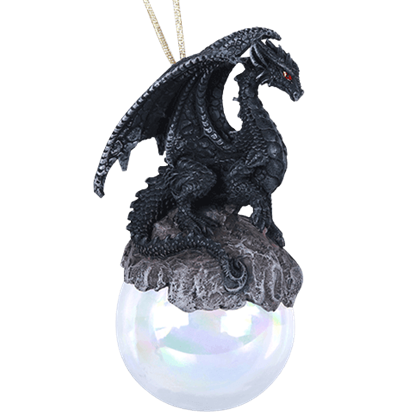 Checkmate Dragon Ornament