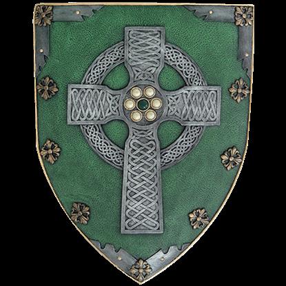 Celtic Warrior Shield Plaque