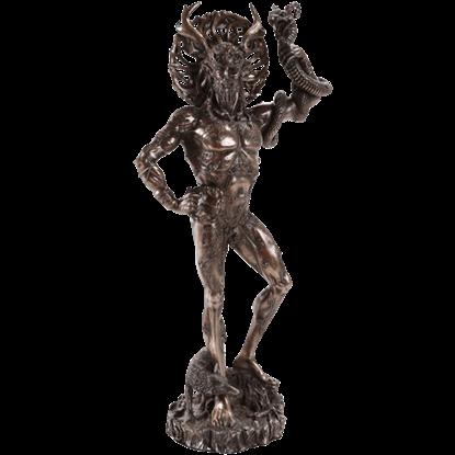 Bronze Cernunnos Statue