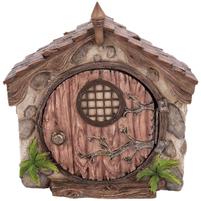 Dome Fairy House Garden Statue