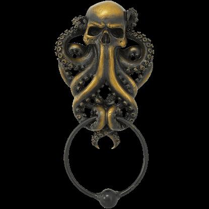 Skeletal Octopus Door Knocker