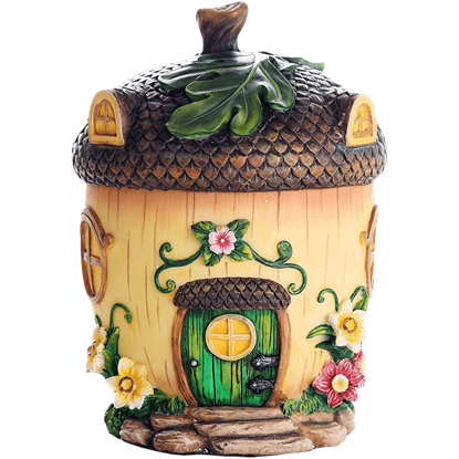 Fairy Acorn Cottage Statue