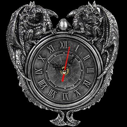 Double Dragon Clock