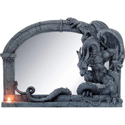 Chained Dragon Wall Mirror