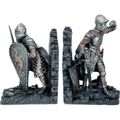 Knights Bookends