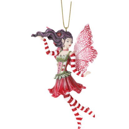 Candy Cane Fairy Hanging Ornament