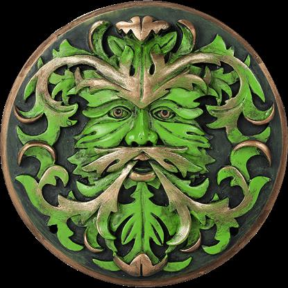 Bronzed Greenman Plaque