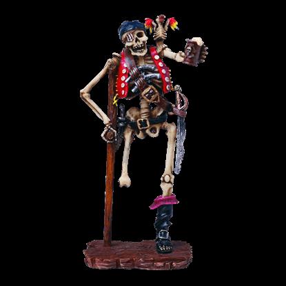Bootleg Skeleton Statue